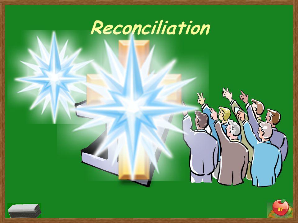 Reconciliation 37 Sin