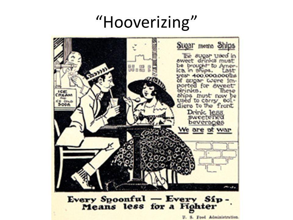 """""""Hooverizing"""""""
