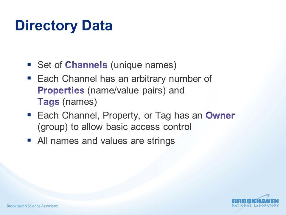 Directory Data