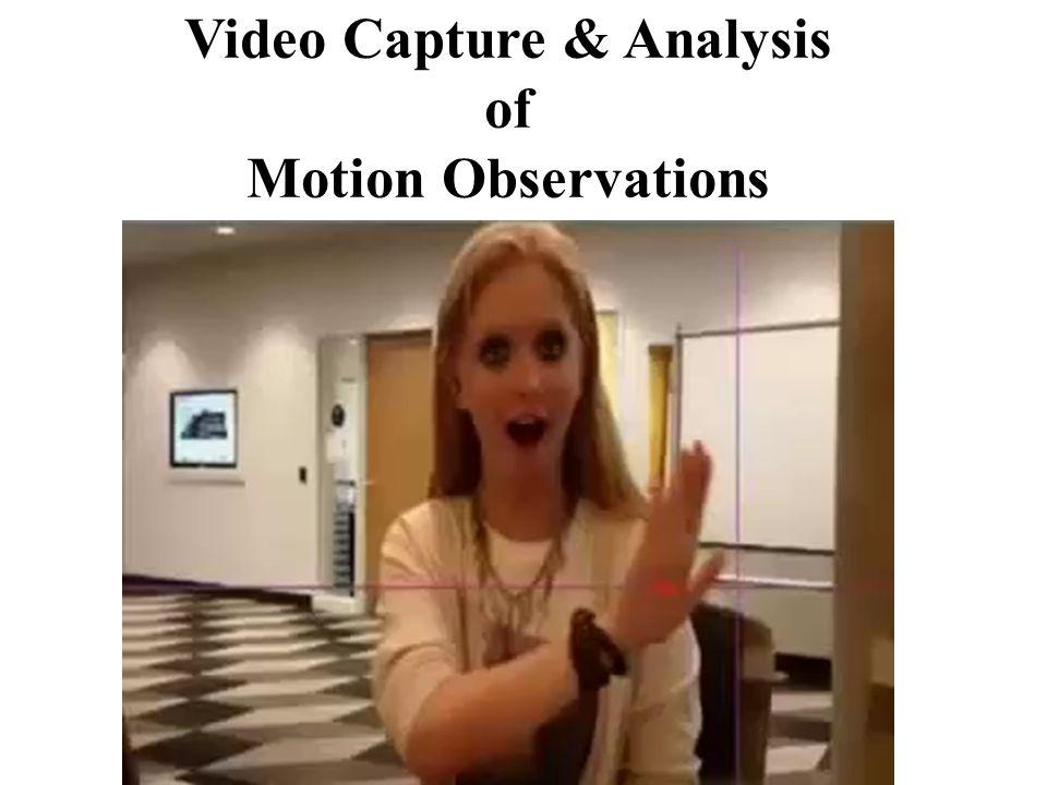 Model Motion Observations