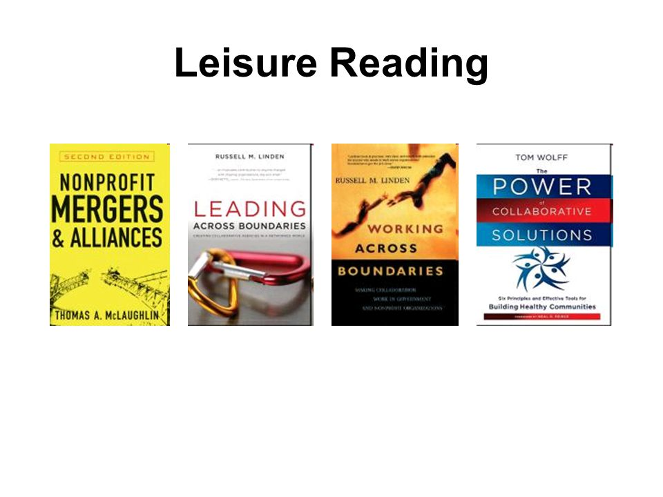 Leisure Reading