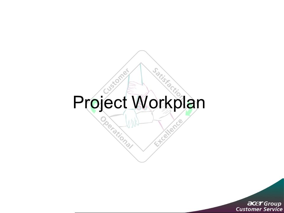 Project Workplan