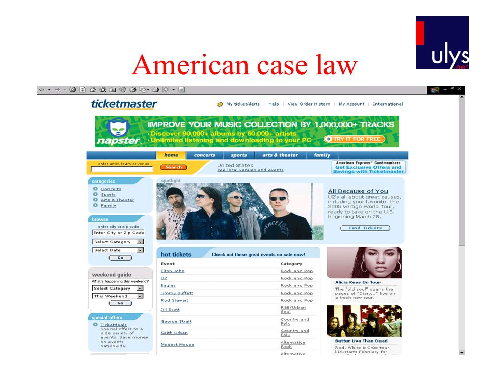 American case law