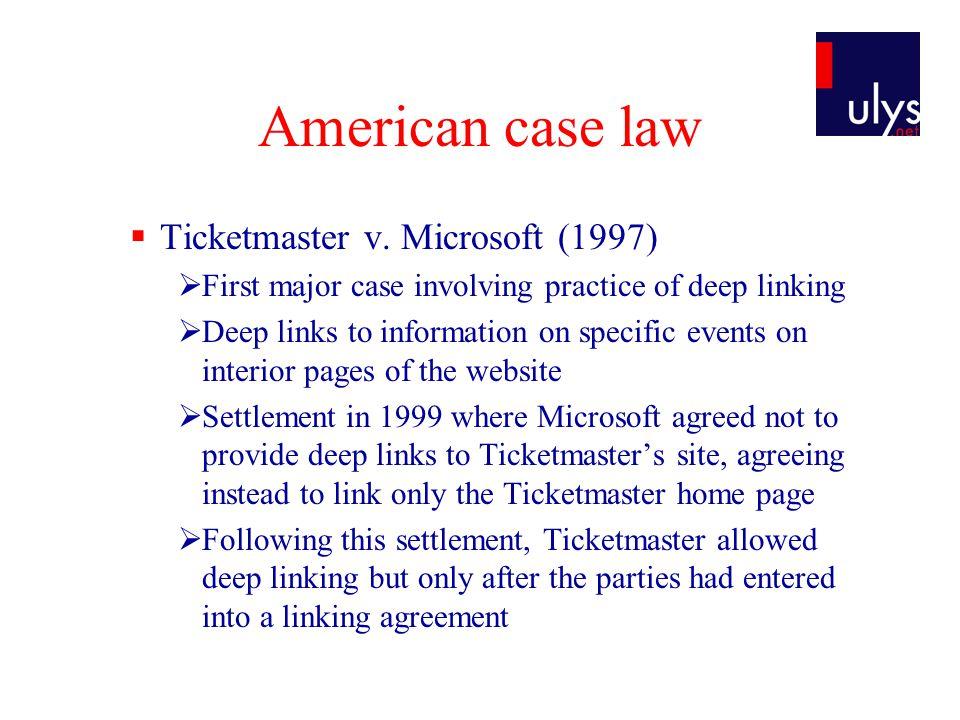  Ticketmaster v.