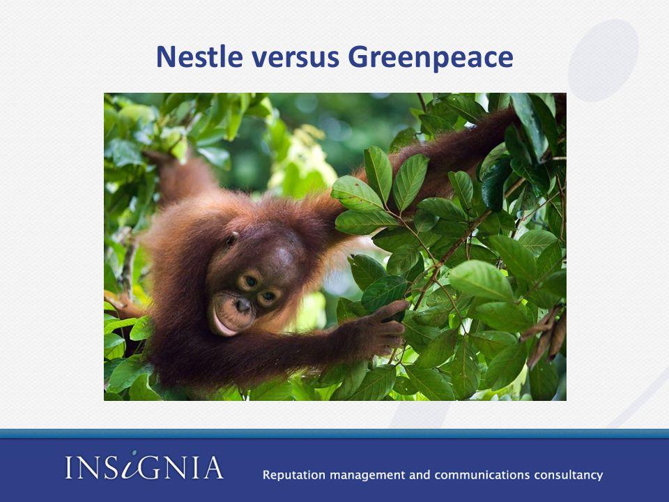 Nestle versus Greenpeace