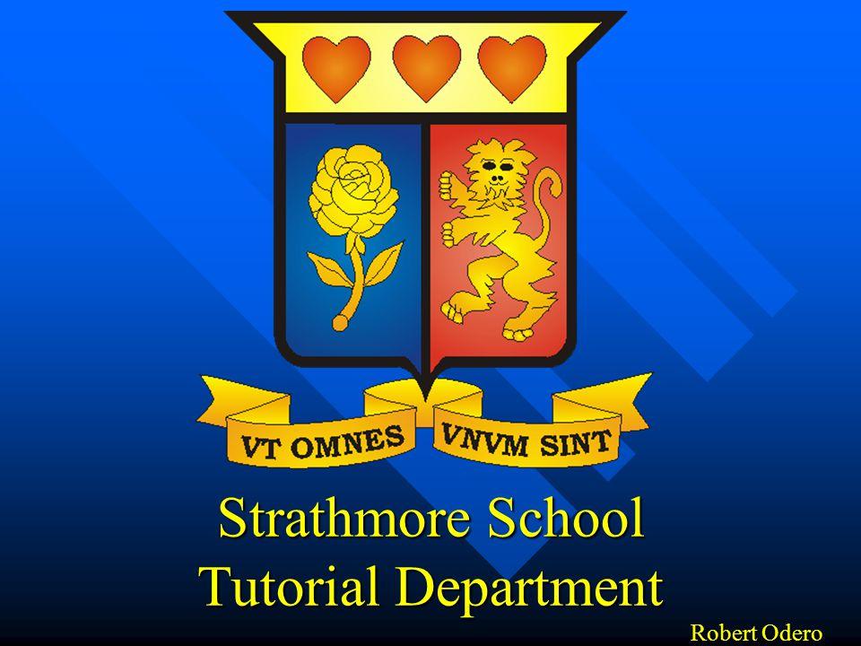 Strathmore School Tutorial Department Robert Odero