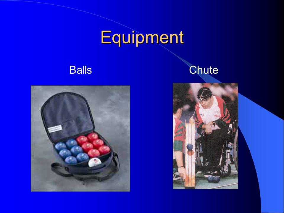 Equipment BallsChute
