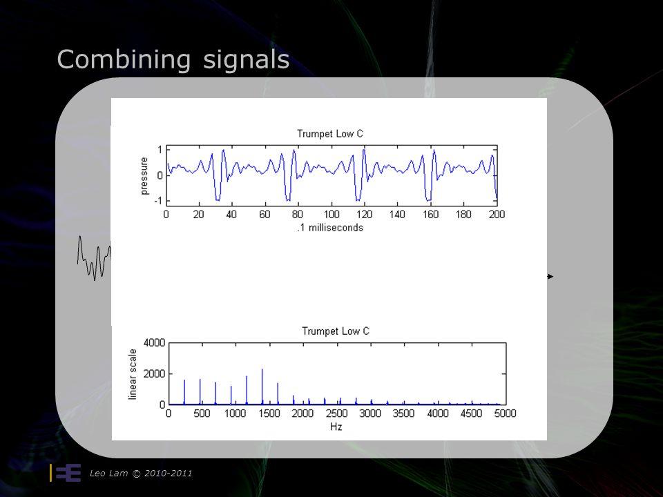 Combining signals Leo Lam © 2010-2011