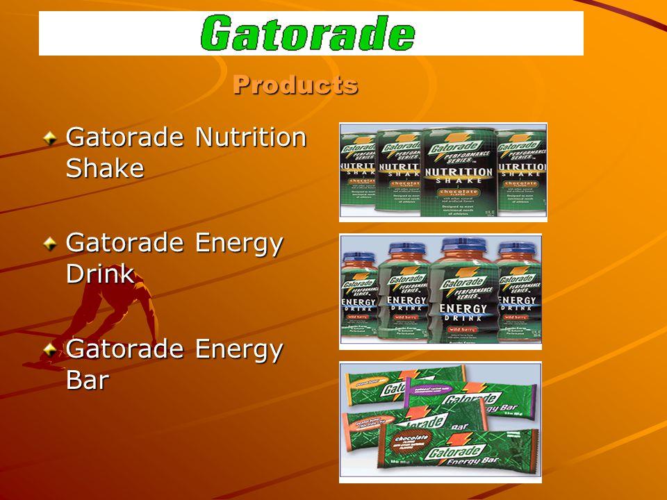 Products Gatorade Nutrition Shake Gatorade Energy Drink Gatorade Energy Bar