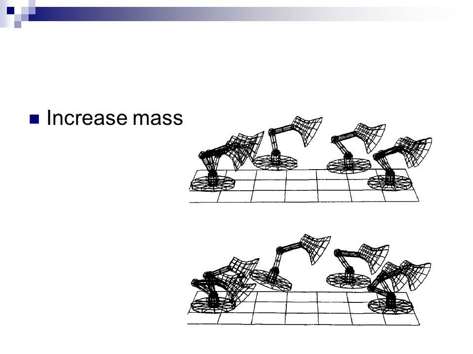 Increase mass