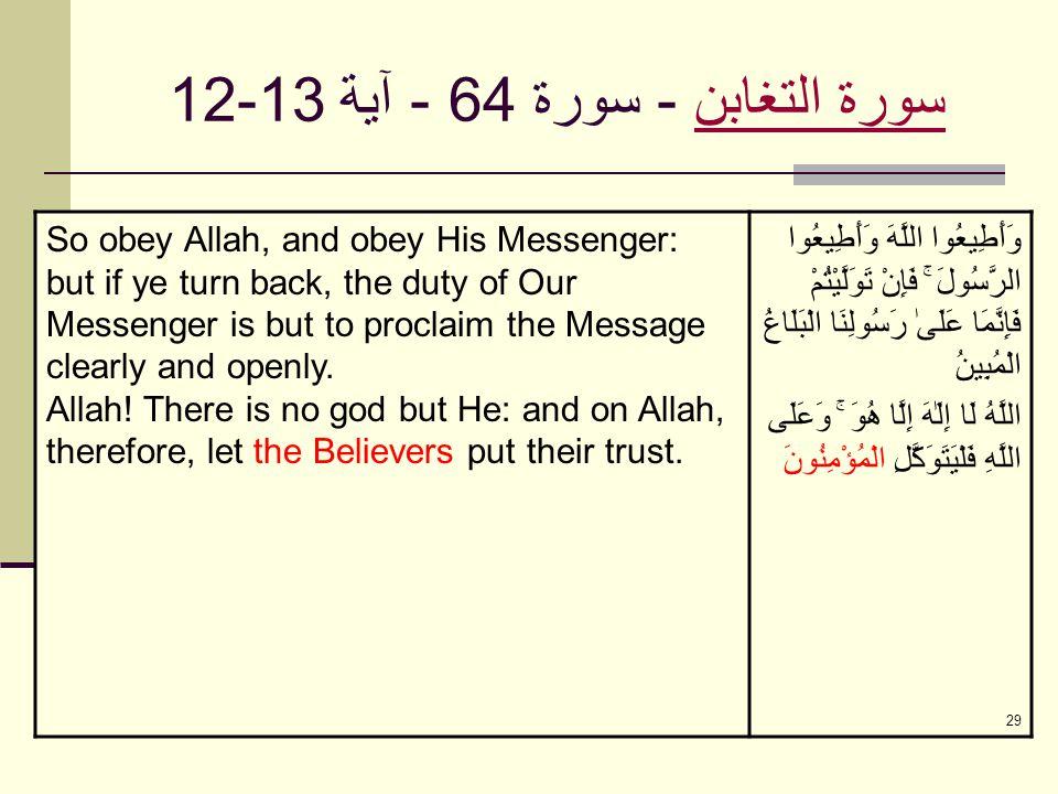 28 سورة المجادلةسورة المجادلة - سورة 58 - آية 9-10 O ye who believe.