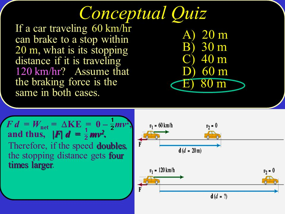 Copyright © 2009 Pearson Education, Inc.Work Done by a Constant Force Solving work problems: 1.