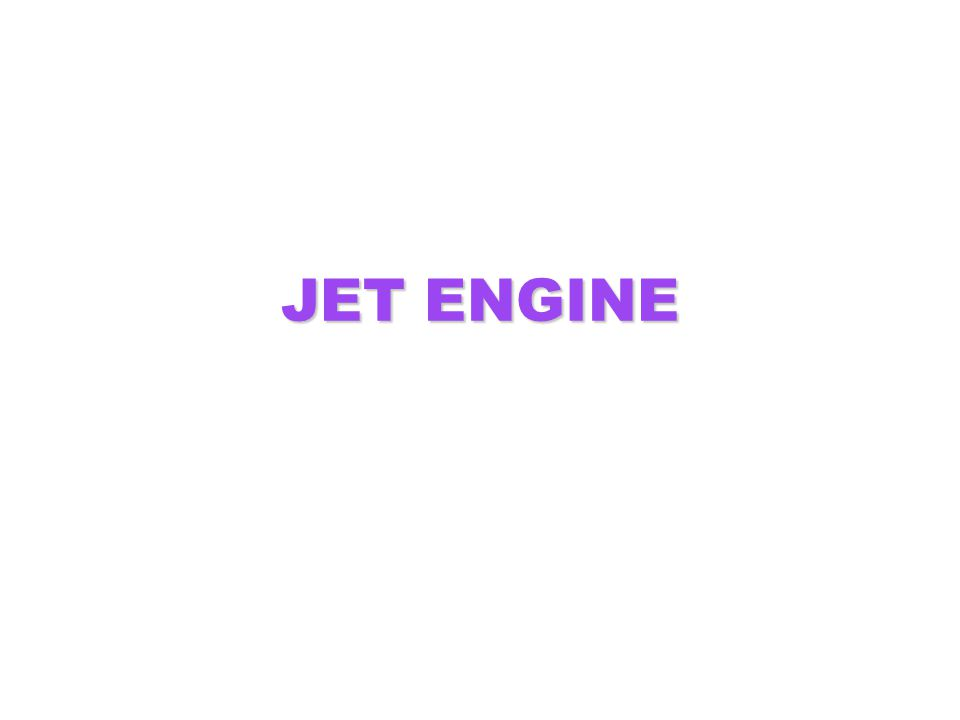 Contents History Types of Jet engines Major components Working Advanced Jet planes