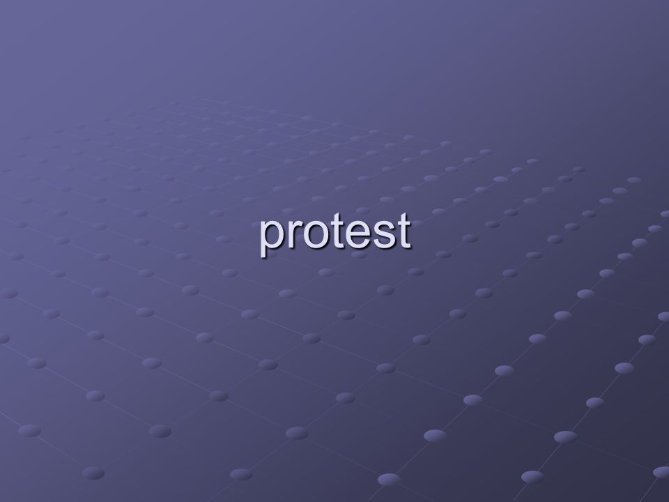 protest