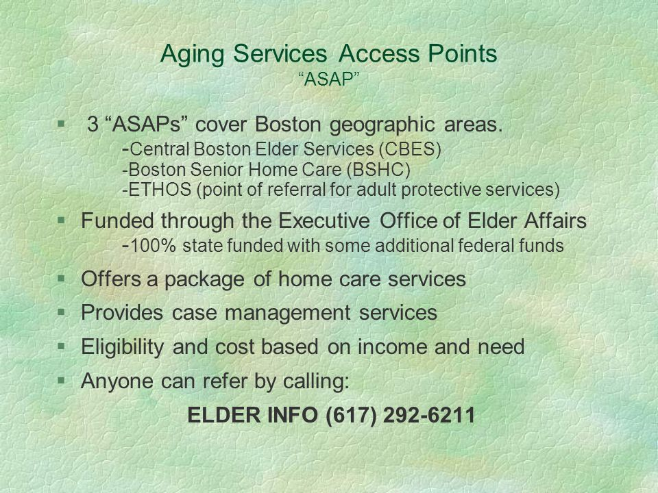 Ruggles Assisted Living