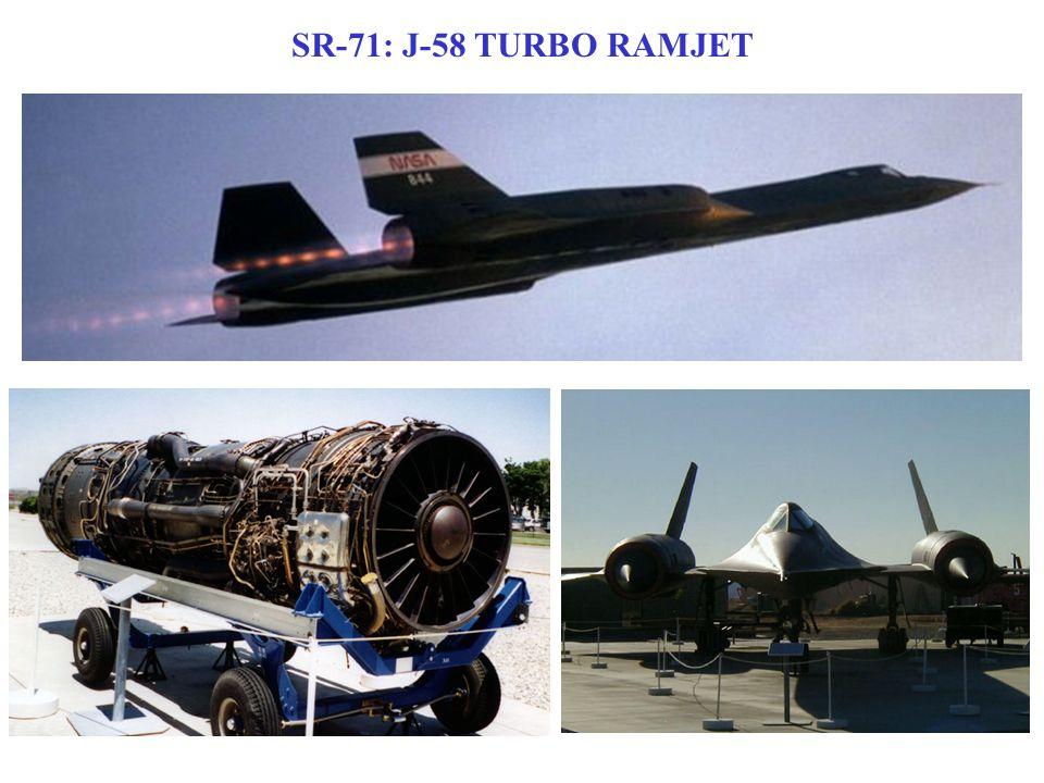 SR-71: J-58 TURBO RAMJET