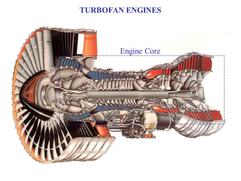TURBOFAN ENGINES Engine Core