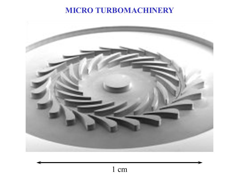MICRO TURBOMACHINERY 1 cm