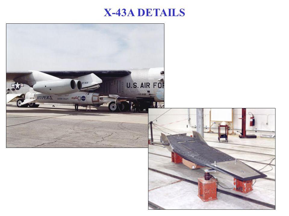 X-43A DETAILS