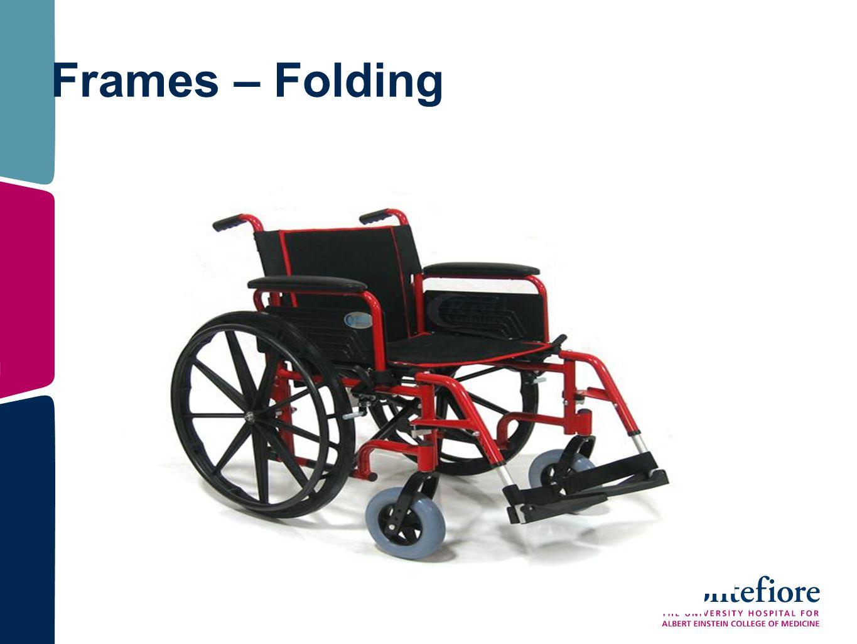 Frames – Folding
