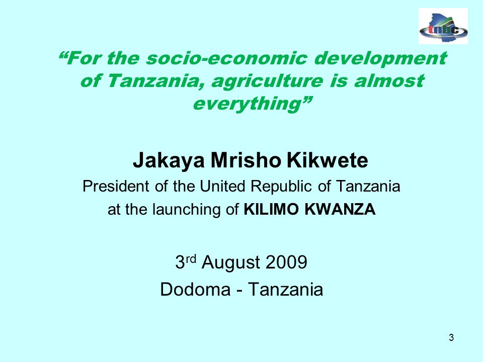 14 Past Initiatives Cont… Unlike past initiatives KILIMO KWANZA is a holistic approach to address the challenges in the agricultural sector.