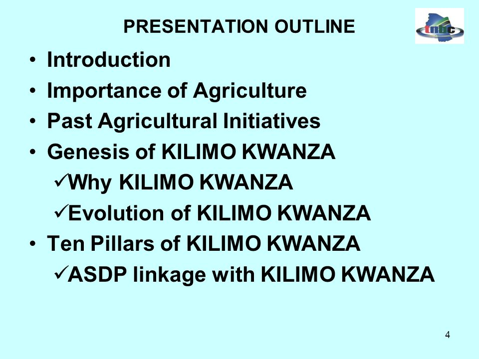 35 Genesis of Kilimo Kwanza Cont..II. THE LAUNCHING OF KILIMO KWANZA On 3 rd August 2009 H.E.
