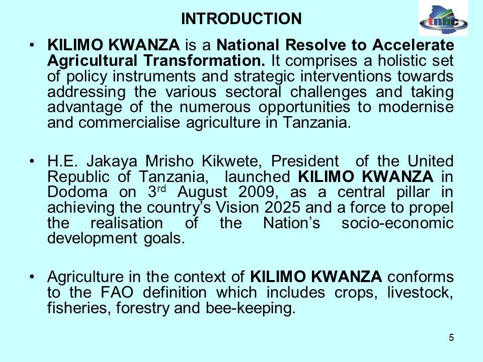 26 COMPARATIVE DATA ON PRODUCTION AND PRODUCTIVITY OF SELECTED CROPS FOR YEAR 2007 Productivity MT/HaProduction (MT) CottonChina4.2 15,248,000 USA2.44 6,163,000 Brazil2.3 2,589,820 India1.4 8,805,600 Pakistan1.3 3,965,000 Tanzania0.67 300,000 Rice/paddyEgypt9.5 N/A Australia8.2 N/A USA7.5 N/A China6.42 187,397,460 Vietnam4.98 35,867,500 Indonesia4.7 57,157,436 Bangladesh4 43,057,000 India3.3 144,570,000 Tanzania1.8 1,341,835