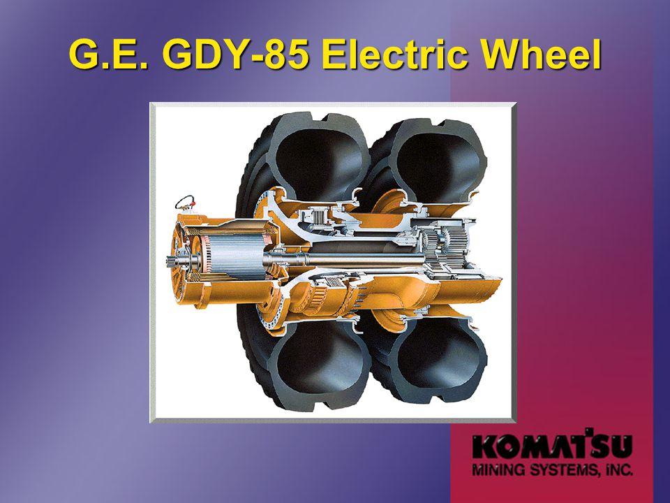 G.E. GDY-85 Electric Wheel