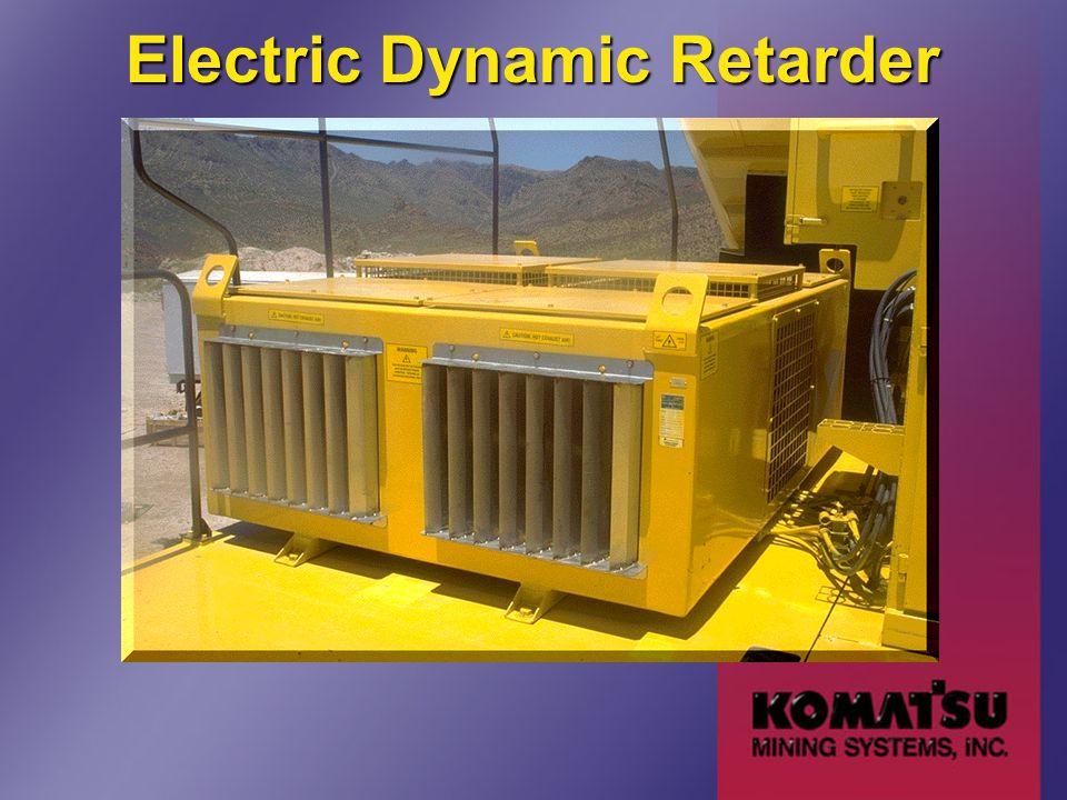 Electric Dynamic Retarder