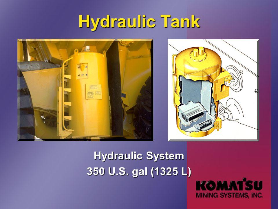 Hydraulic Tank Hydraulic System 350 U.S. gal (1325 L)