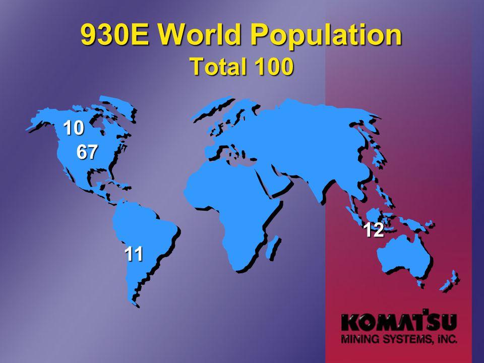 930E World Population Total 100 67 12 11 10