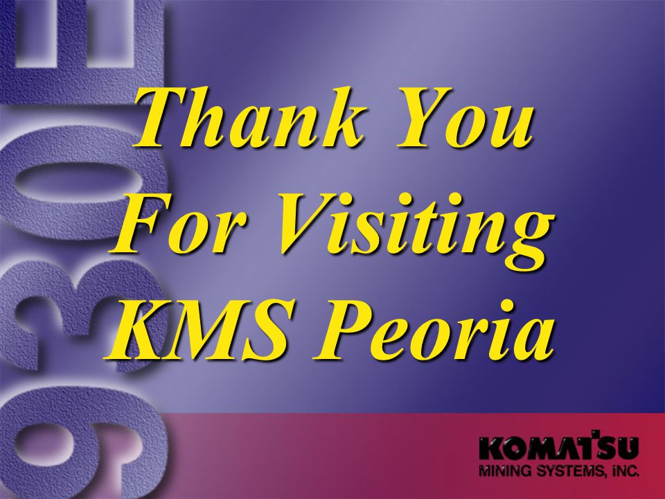 Thank You For Visiting KMS Peoria