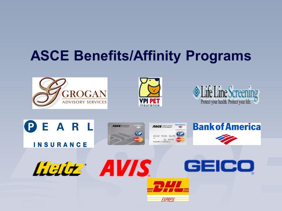 ASCE Benefits/Affinity Programs