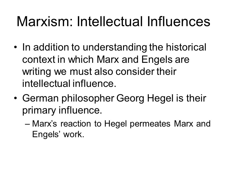 Stop.Take Our Pulse… What is Marx's view of history.