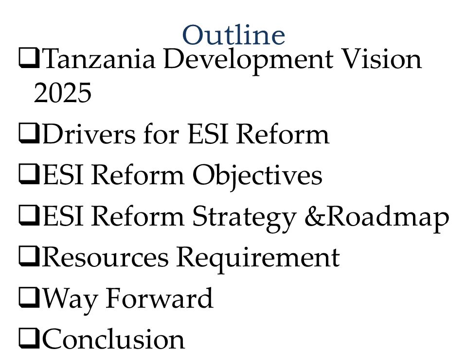 The Roadmap – Immediate Actions July 2014 – June 2015 Major ActivitiesTimeframeLead Responsibility Establish a Task Force (MEM) and TCMT at TANESCO Jul 2014TANESCO Human Capital Needs Assessment and Capacity Build Programme Prepared Dec 2014 MEM/TANESCO/ EWURA Carry out MIS review and ring fence TANESCO's SBUs Dec 2014TANESCO Develop standard template Power Purchase Agreement (PPA) models; Jul 2014EWURA TANESCO Turnaround Strategy Dec 2014MEM Designate Grid Control Center as Independent System Operator (ISO); Dec 2014EWURA Reviewing of the Electricity Act, 2008, in particular, Section 41(6) Dec 2014TANESCO Initiate Business process review and TANESCO's Assets and Liabilities valuation Dec 2014MEM Develop of Grid Codes to guide Tx and Dx operations Dec 2014EWURA