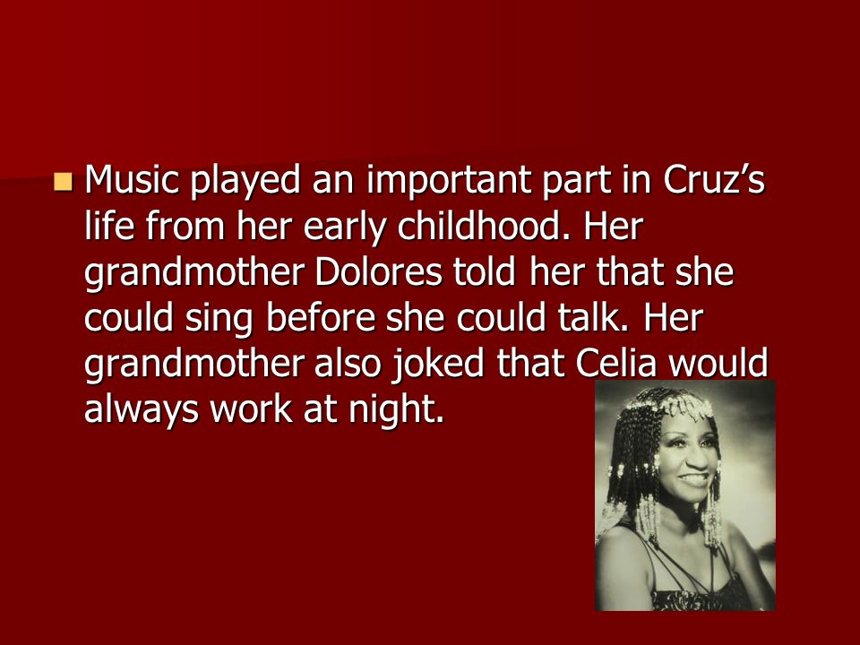 Cuba has always been an important musical landscape.