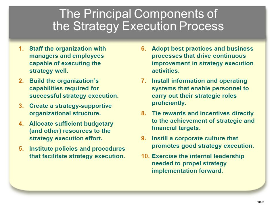 10–27 Facilitating Collaboration with External Partners and Strategic Allies Strategic alliances Outsourcing arrangements Joint ventures Cooperative partnerships Creating a Network Structure: Using relationship managers to build and maintain cooperative arrangements of value both parties