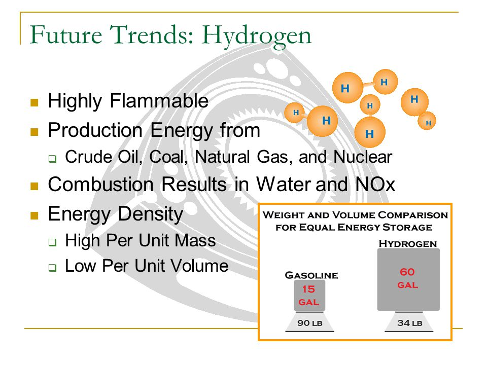 Future Trends: Hydrogen Highly Flammable Production Energy from  Crude Oil, Coal, Natural Gas, and Nuclear Combustion Results in Water and NOx Energy