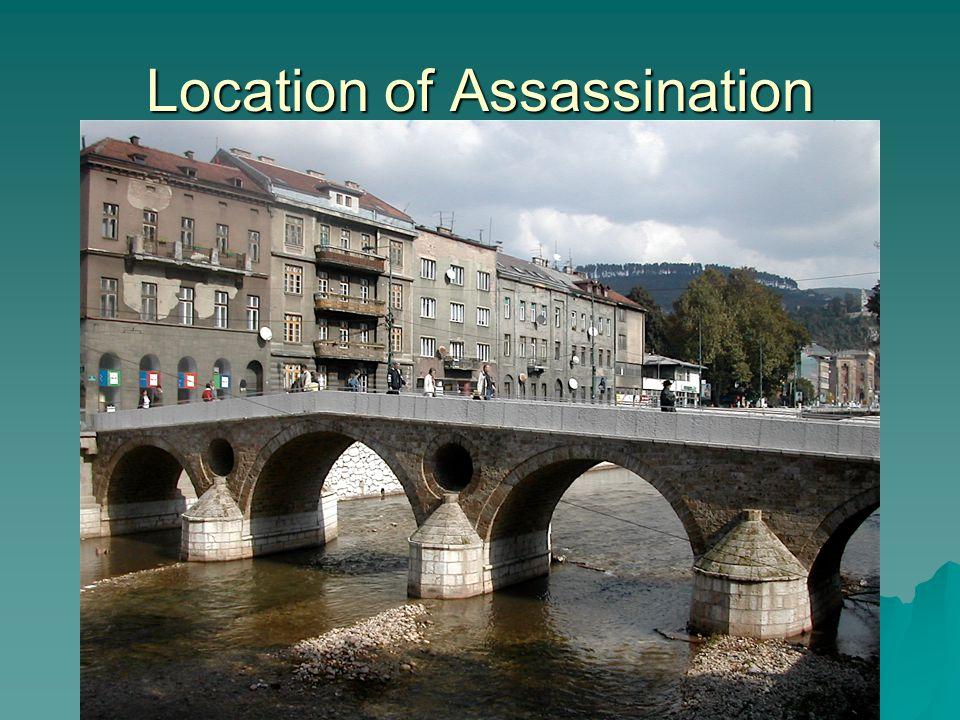 Location of Assassination