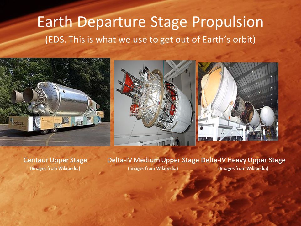 Earth Departure Stage Propulsion (EDS.