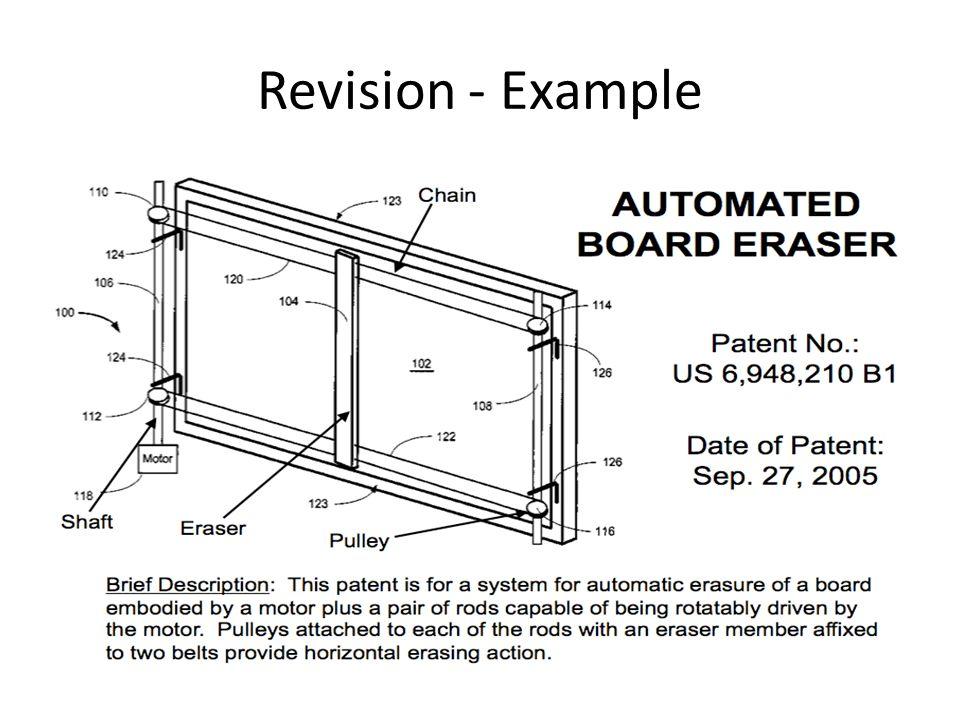Automatic White Board Wiper This Week – Conceptual design presentation Descriptive name Brief description Descriptive sketch Advantages and disadvantages
