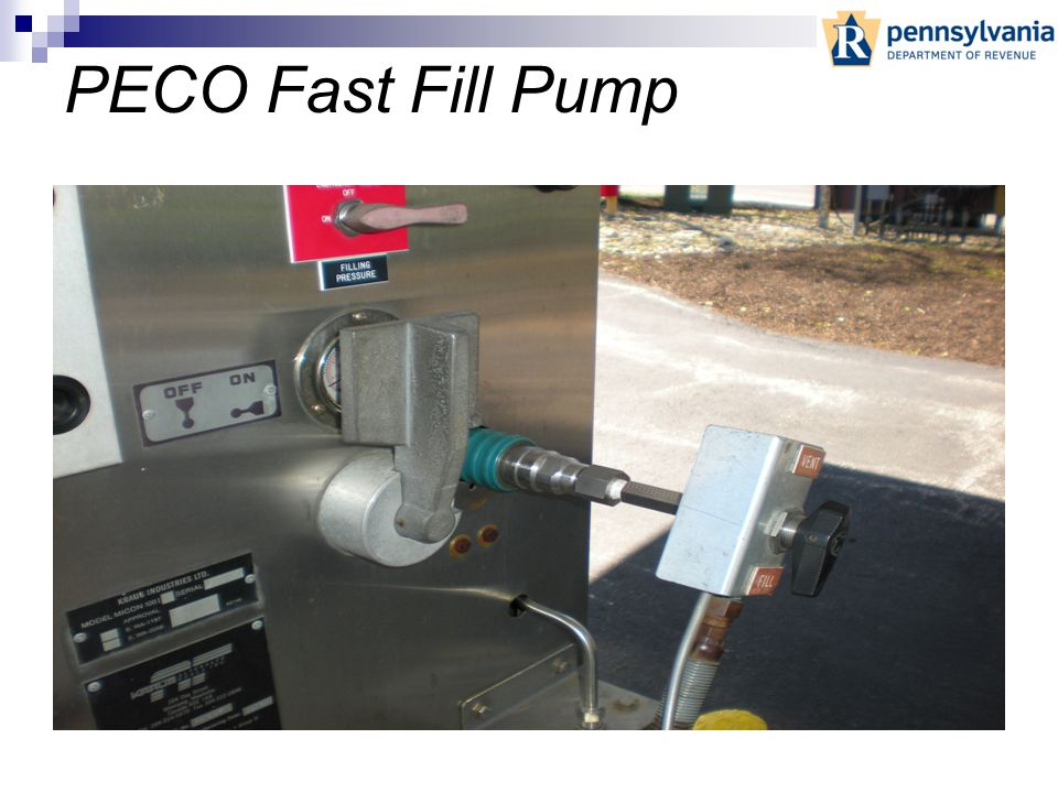 School District Fueling Pump