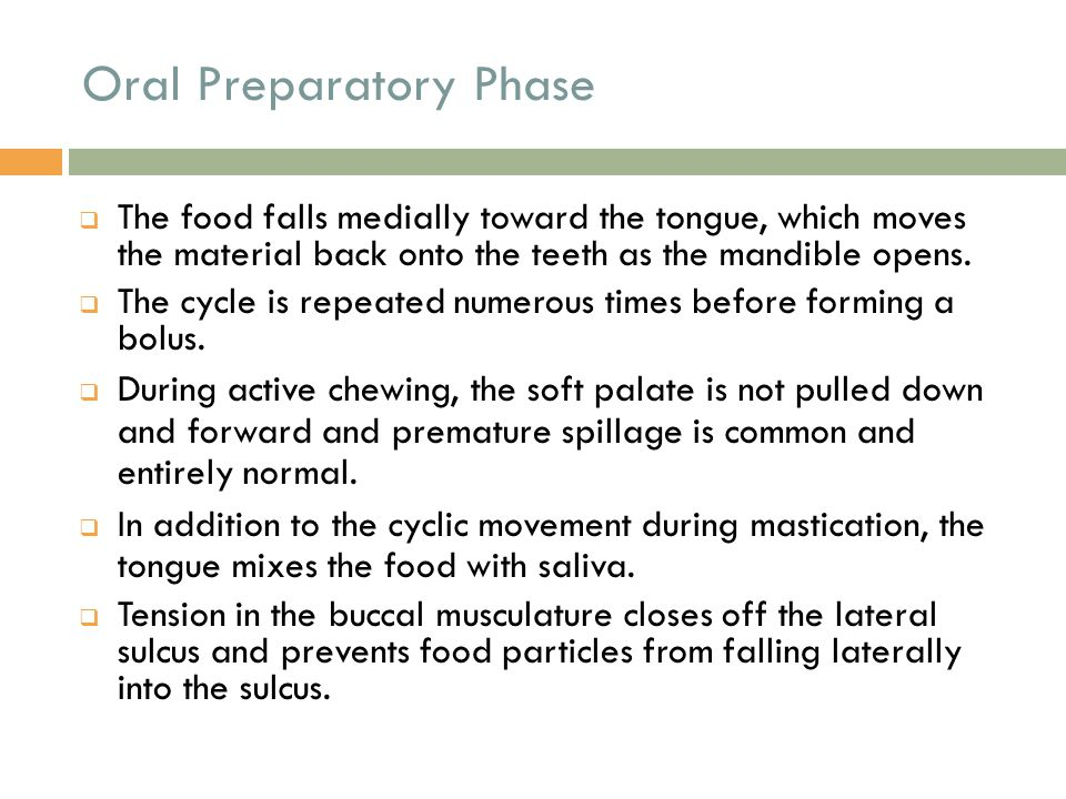Pharyngeal Stage o Impaired relaxation is only detectable manometrically.
