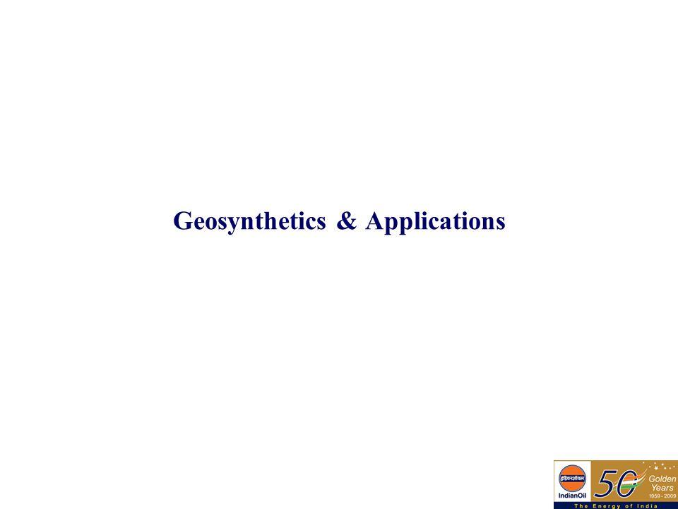 Geosynthetics & Applications
