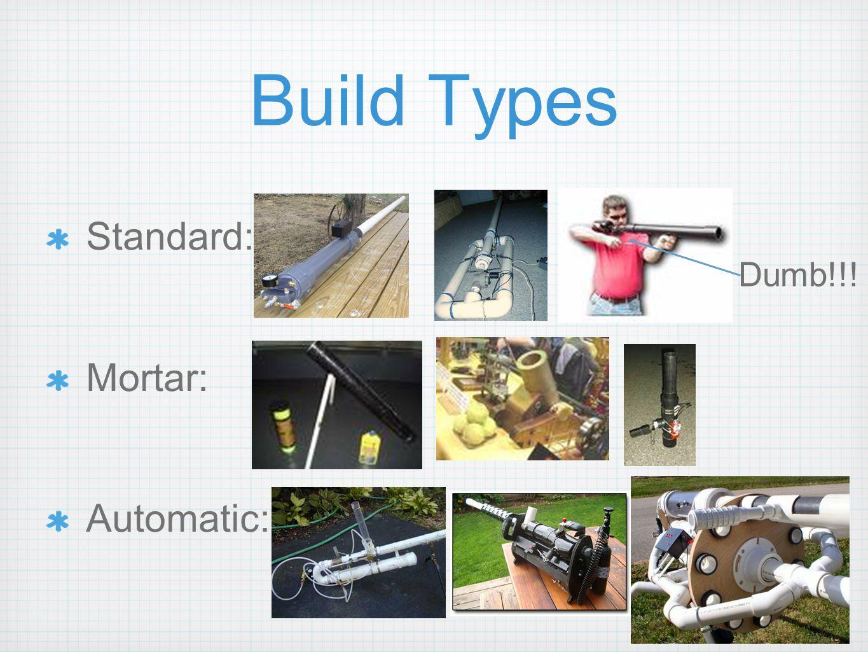 Build Types Standard: Mortar: Automatic: Dumb!!!
