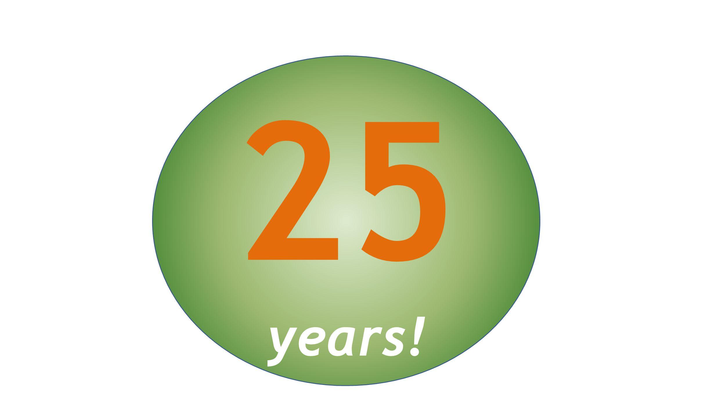25 years!