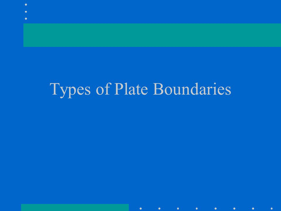 What happens at a TRANSFORM boundary.A. Two plates move together B.