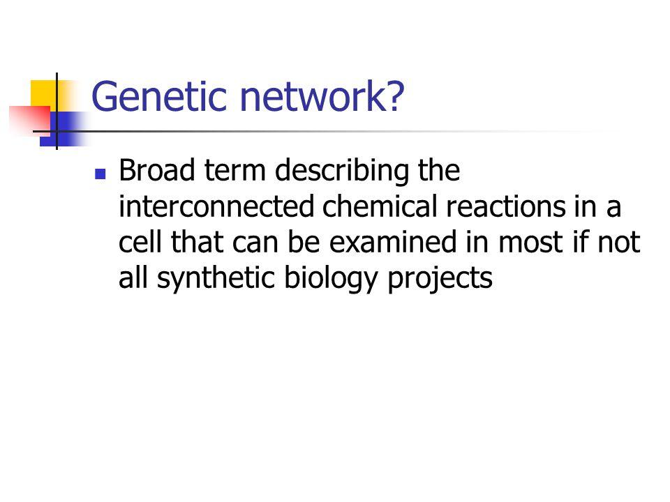 Genetic network.