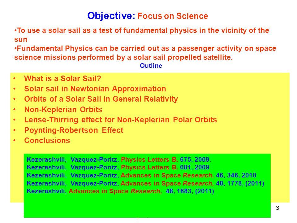 Институт ядерной физики, Новосибирск, 15 июня 2012 3 What is a Solar Sail.