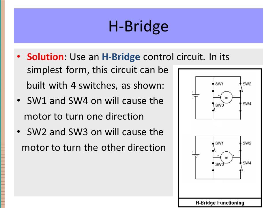 H-Bridge Solution: Use an H-Bridge control circuit.